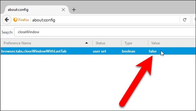 Tutorial : Preventing Firefox from Closing When You Close the Last Tab