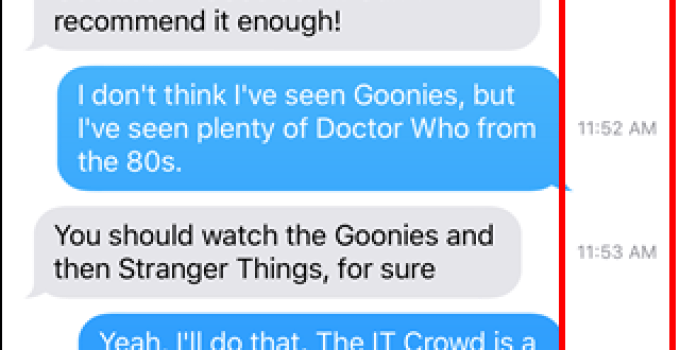 Tutorial: How To Know When A Text Was Sent On Your iPhone