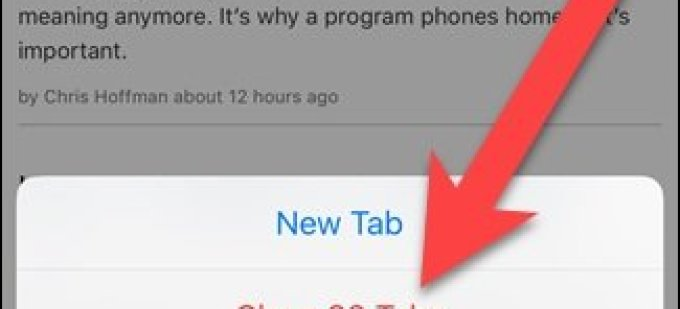 How to Close All Tabs at Once in Safari in iOS 10