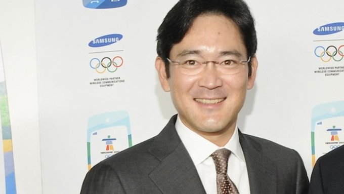 Samsung chief