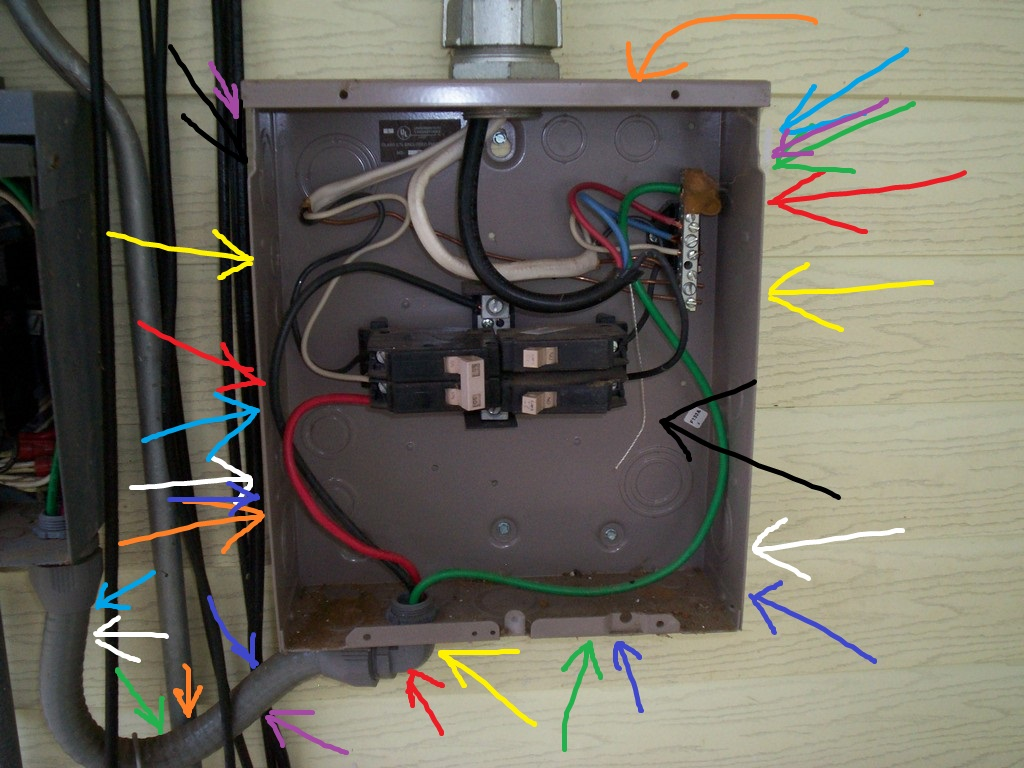 Home Electrical Wiring Look - Wiring Circuit •