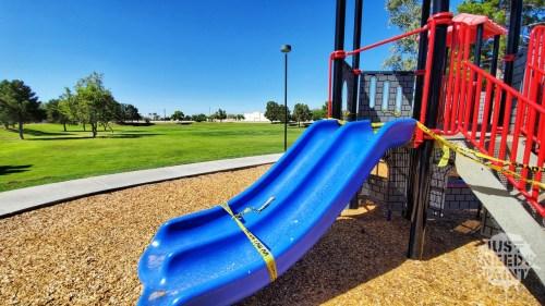 Coronavirus Playgrounds Closed