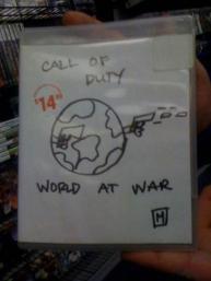 copertine disegnate a mano di Gamestop