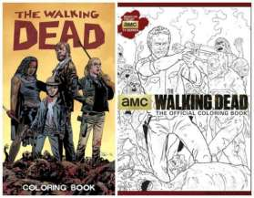 I libri da colorare di The Walking Dead