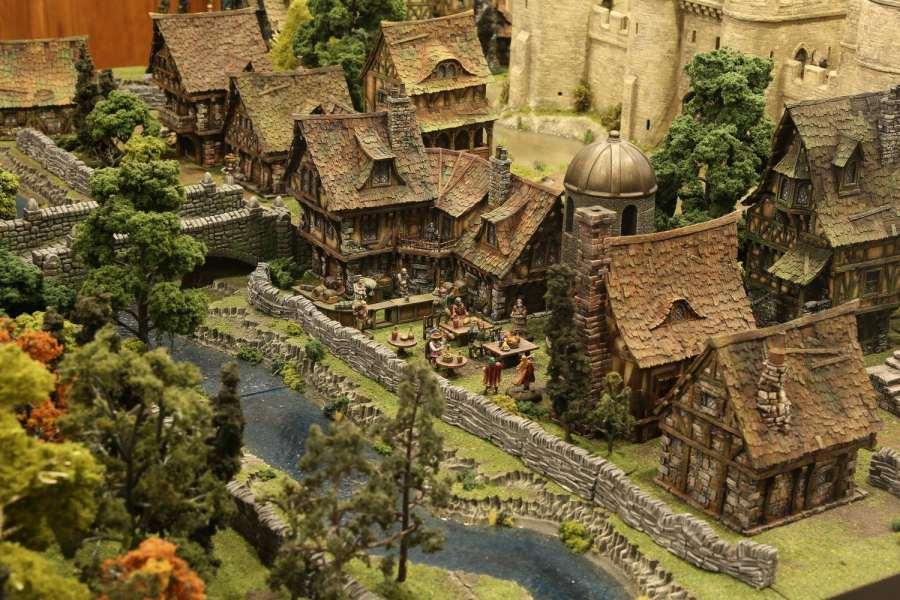 terreno di gioco per miniature