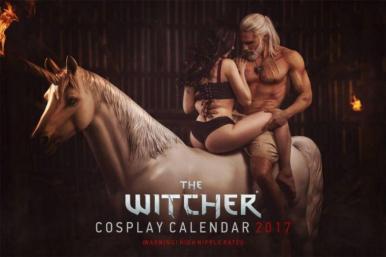 calendario cosplay NSFW 2017
