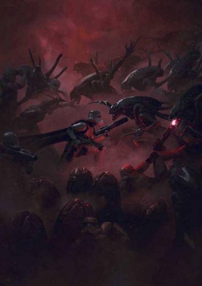 Guillem-H-Pongiluppi-star-wars-vs-aliens-1