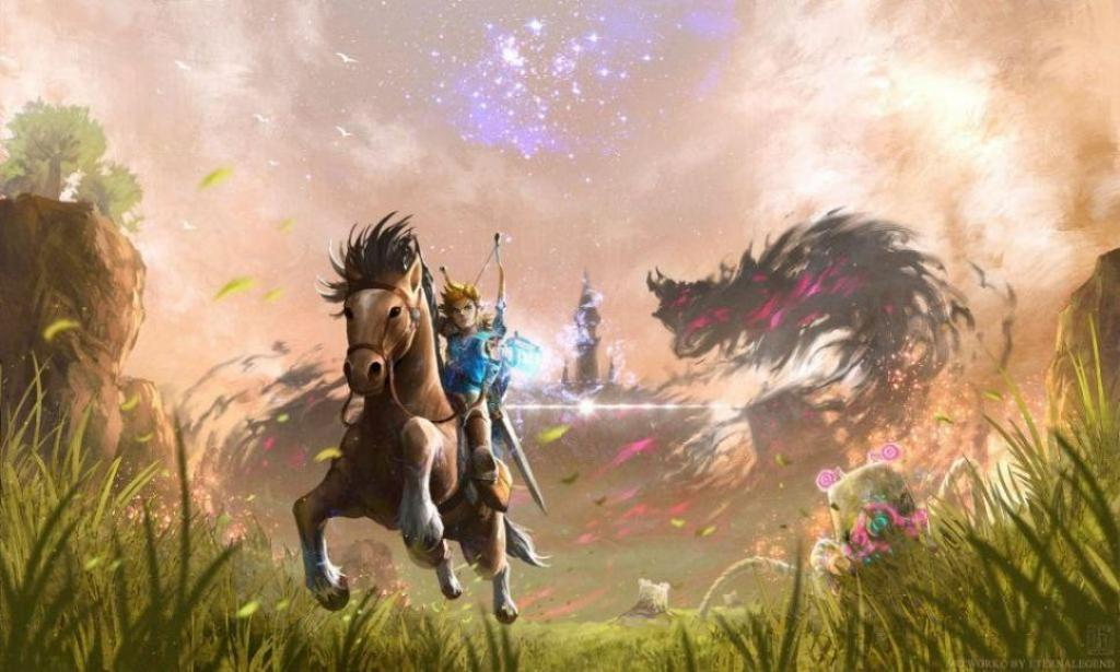 The Legend of Zelda Breath of The Wild 10 migliori videogiochi del 2017