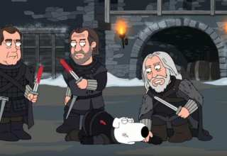 I Griffin parodia a tema Game of Thrones