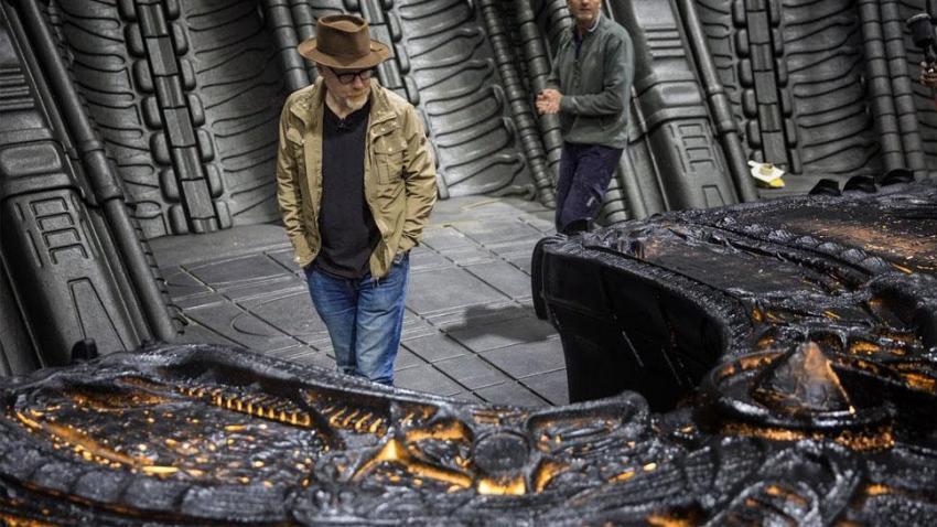 Adam Savage Alien: Covenant