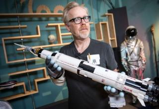 LEGO Saturn V adam savage