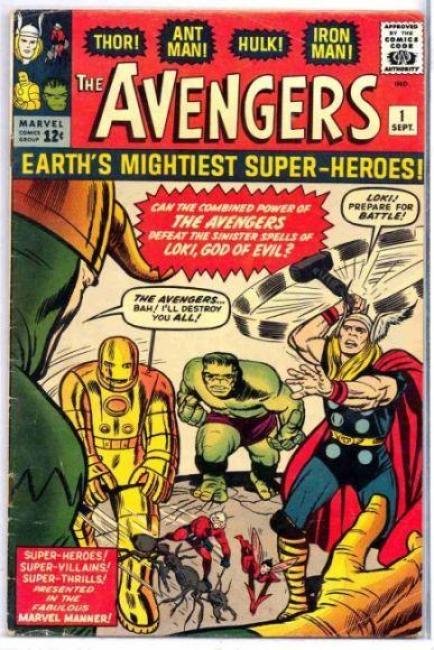 avengers 1 marvel
