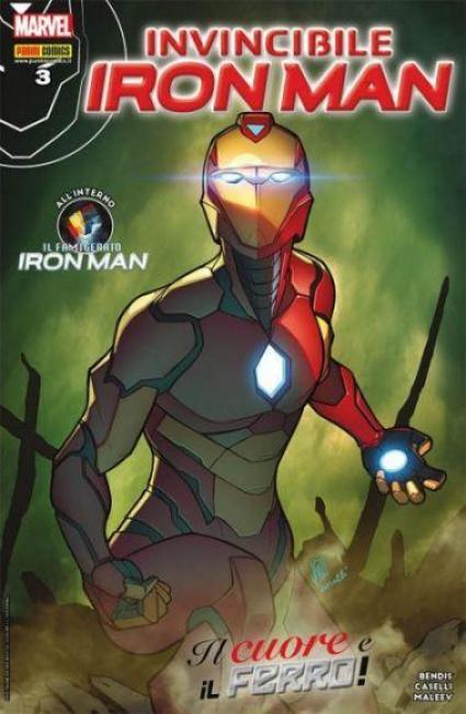invincibile iron man 3 copertina