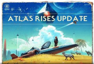 Atlas Rises no man's sky