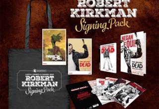 Robert Kirkman Signing Pack
