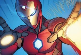 invincibile iron man cover
