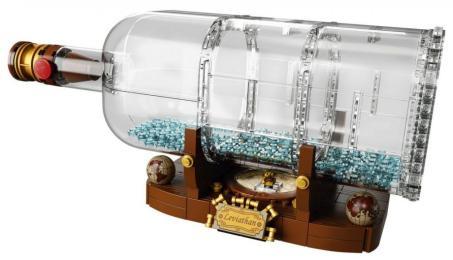 Nave in bottiglia lego (3)