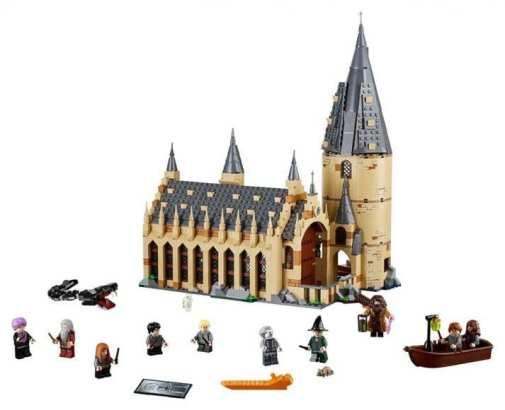 set LEGO di Hogwarts