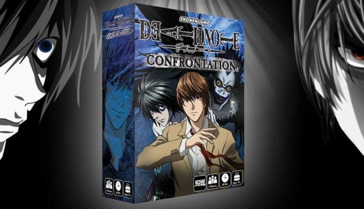 Death Note: Confrontation, IDW annuncia il gioco da tavolo ispirato al celebre anime!