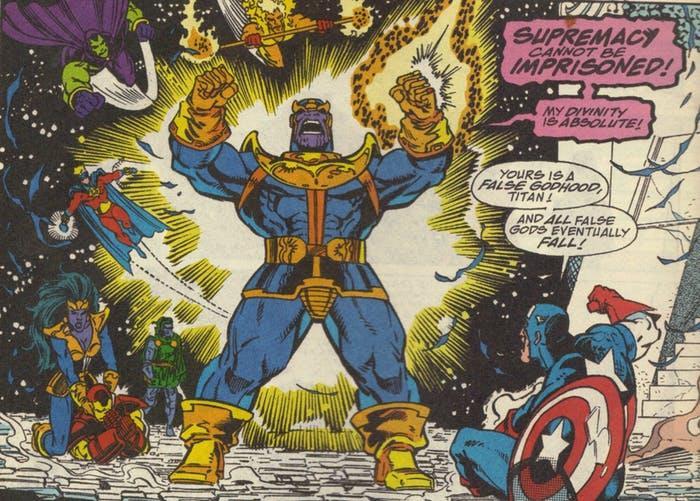 Thanos e i suoi sodali