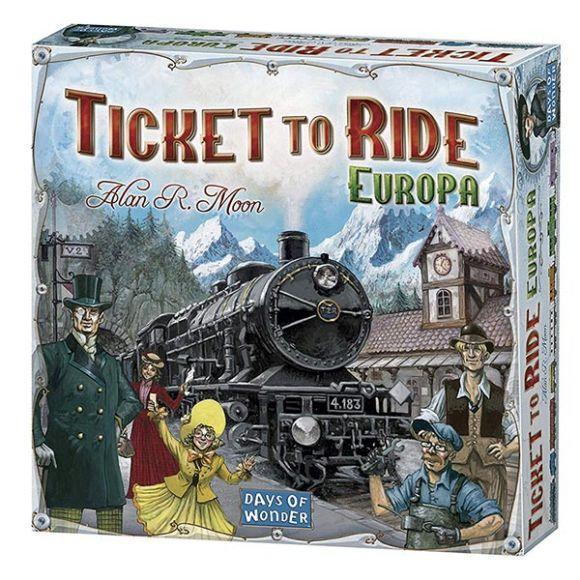 Ticket to Ride Europa –Edizione Italiana (Asterion)