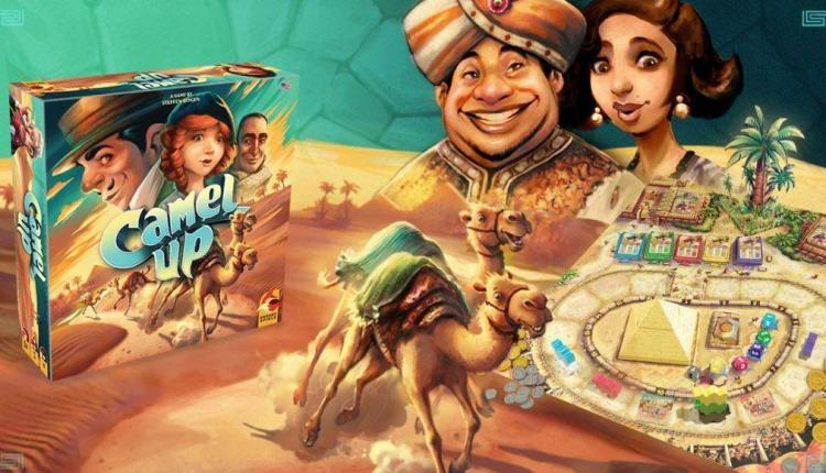 Camel Up: i dromedari di Eggert Spiele tornano sui nostri tavoli con una nuova edizione