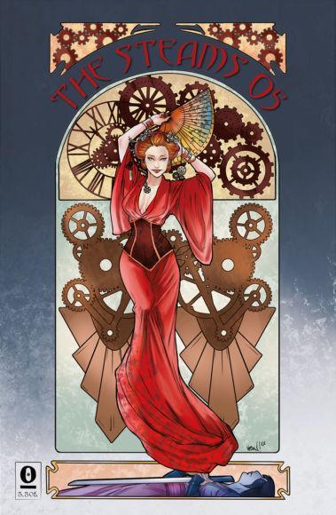 NOISE PRESS - The Steams#05 - Prima Quarta Copertina