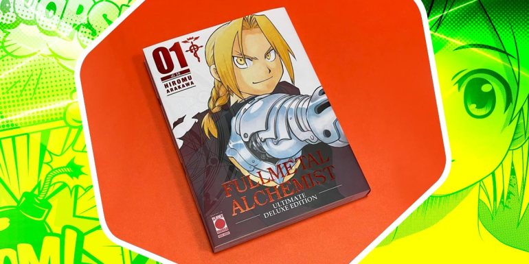 fullmetal alchemist ultimate deluxe edition planet manga