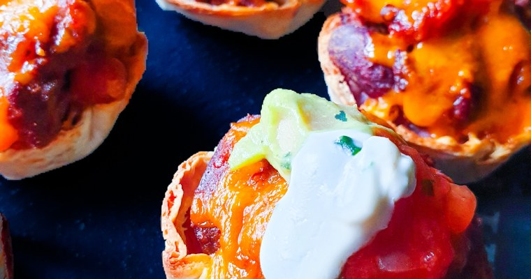 Crispy Chilli Cups- Diet Friendly