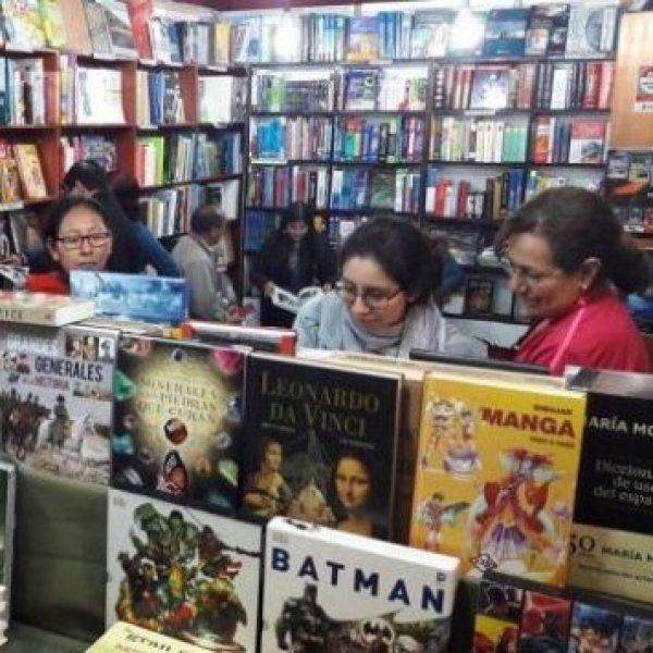Impresiones en la Feria del Libro