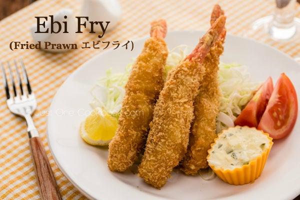 Udang goreng tempura