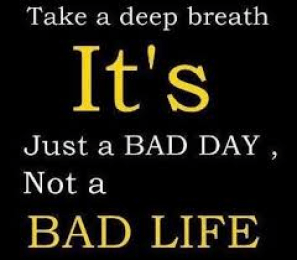Having a bad Monday