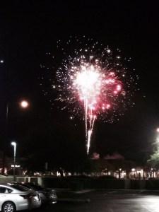 07-13-2015 Fireworks in parking lot