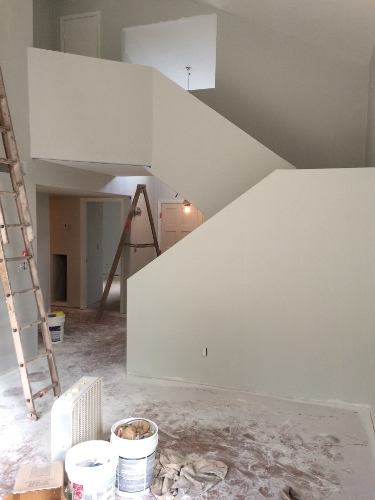 Making both dust and progress on the remodel