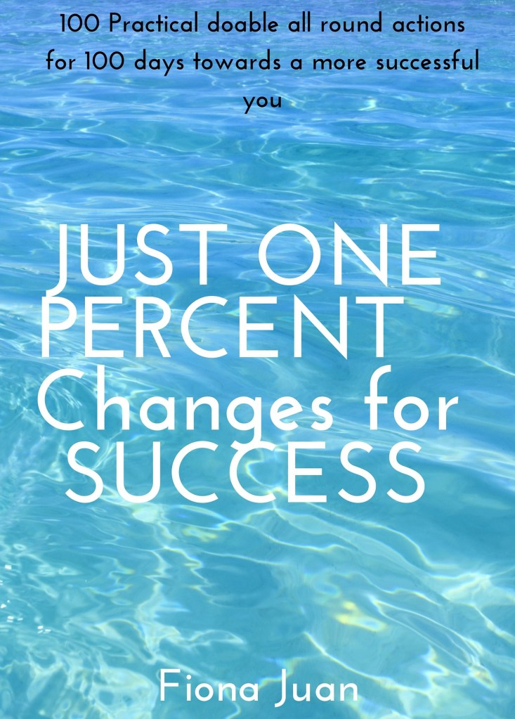 Just One Percent Changes for Success Book Cover