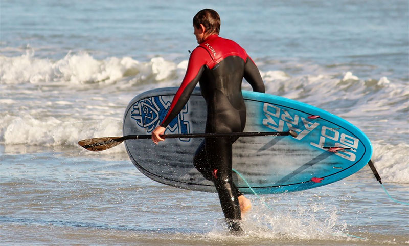 Best Wetsuits For SUP Surfing and Cold Water SUPing