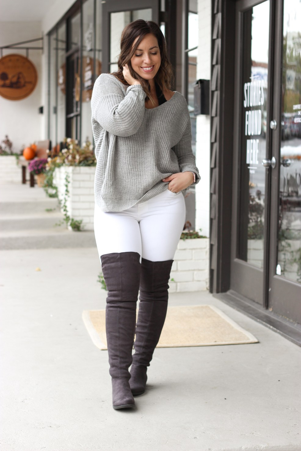 Twisted Sweater | Just Peachy Blog
