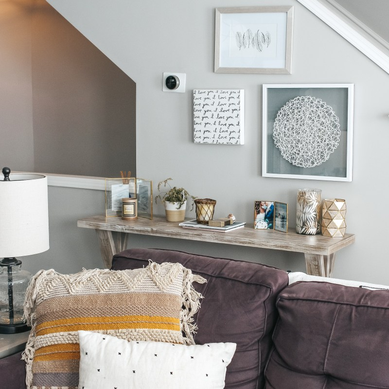 Opendoor: Easier Home Buying | Living Room Tour | Just Peachy Blog