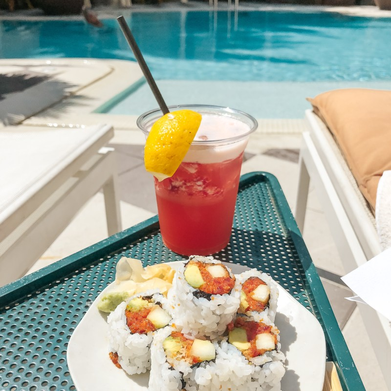 Blue Ribbon Sushi at Plymouth Hotel South Beach | Where to Eat in Miami