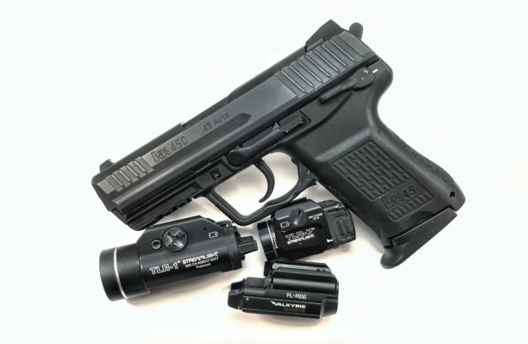 JP HK45c Light Compatibility
