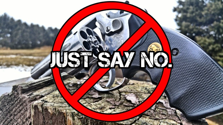 Revolvers Just Say No