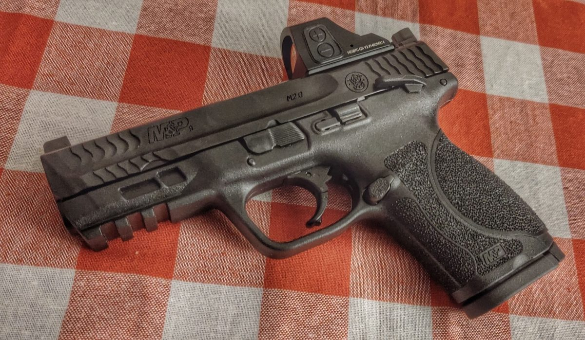 Smith & Wesson M&P with Optic