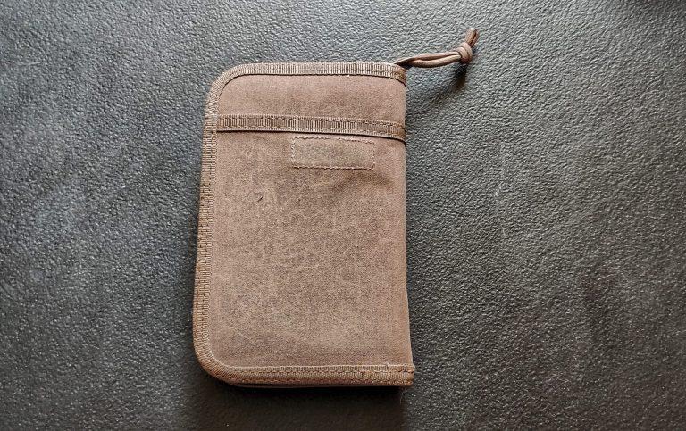 Lochby Pocket Journal Back Pocket