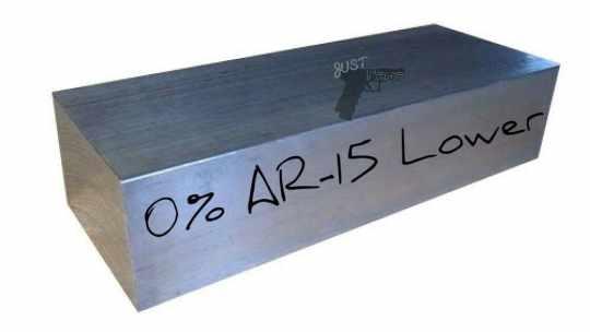 0% AR-15 Lower Receiver