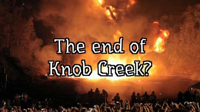 The Last Knob Creek Machine Gun Shoot