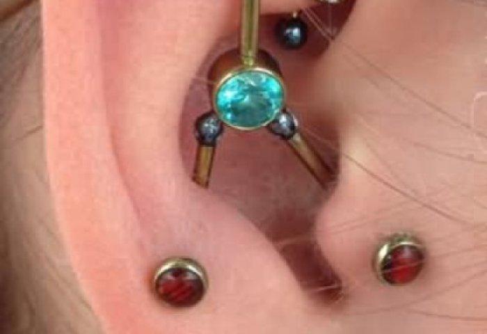 Custom Ear Piercings For Girls