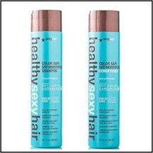 healthy sexy hair shampoo and conditioner color safe