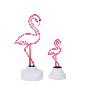Pink Flamingo Neon Table Night Lamp Lights