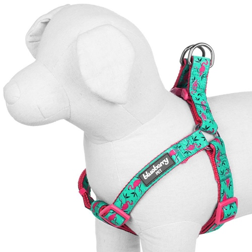 Blueberry Pet Pink Flamingo Designer Dog Harness - Just Pink About It