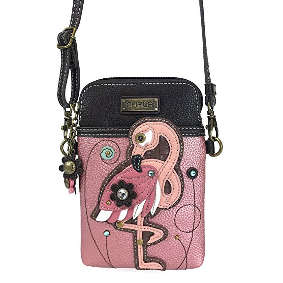 Chala Women's Flamingo Crossbody Cell Phone Bag